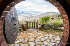 Lord of the Rings themed bed and breakfast with an amazing view!   #lordoftherings #uniquebedandbreakfast