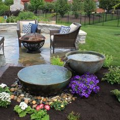 Glass Fiber Reinforced Concrete Spillway Bowl and Basin Fountain