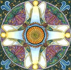 Angel mandala
