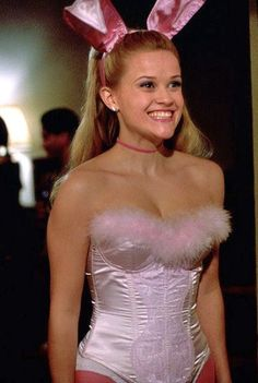 Goals: recreate the Legally Blonde Bunny costume