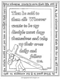 coloring pages for kids by mr adron words of jesus