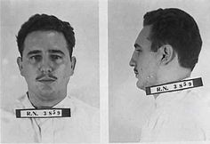 Fidel Castro arrested after the attack on the Moncada Military Barracks on July 26, 1953