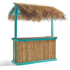 Josh wants a tiki bar for the pool. This one is cute