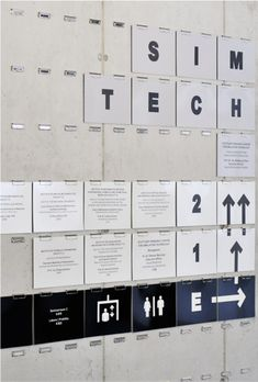 SimTech Lab Signage, by Kommunikation Design. Environmental Graphics, Environmental Design, Stand Design, Web Banner, Sign System, Innovation Lab, Exterior Signage, Info Board, Coffee Shop Design