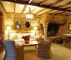 Hotel Rústico Lugar Do Cotariño, en A Coruña - Decoratrix   Blog de decoración, interiorismo y diseño