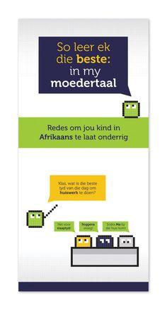 Vriende Van Afrikaans Brochure Design by Sunflood