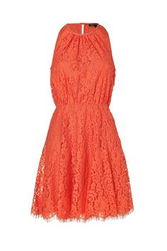 Juicy Couture Sweet Clementine Scallop Lace Dress, $280, available at Stylebop.