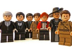 downton abbey lego set