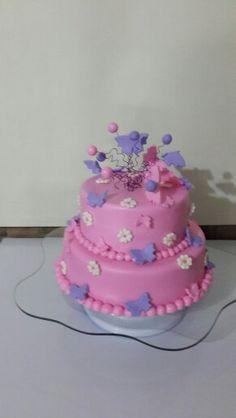 Cake de mariposas