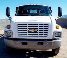 2005 Chevrolet 6500 Flat Bed For Sale In Phoenix OWNED & MAINTAINED BY FED GOV SINCE NEW ONLY 14,000 ACTUAL MILES! Cat C7, Auto, AC, Diamond Plate Flatbed, Power Lift Gate LIKE NEW! - - - - ONLY $26,900 - - - HD TRUCKS & EQUIP LLC - - - Call 602-510-5444 - - - www.HDTrucksAndEquipmentSales.com