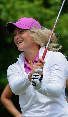 2013 Golf: Suzann Pettersen Has Share of the Lead at LPGA First Major