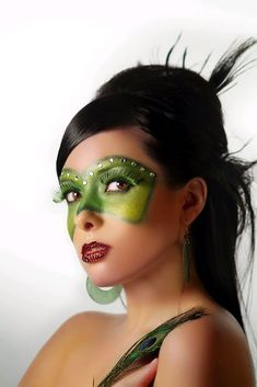 Facepainting Idea - Have a couple girls painting peoples masks in a corner.