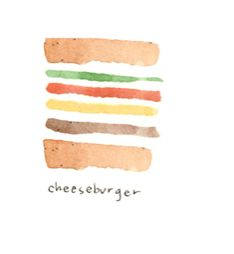 cheeseburger by @Katie Rodgers