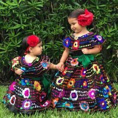 9d93929d2 Mexican Chiapaneca Dress for Girls. Mexican Chiapaneca Dress for Girls - Cielito  Lindo Mexican Boutique ...