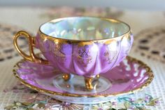 Vintage Royal Sealy Pink Teacup & Saucer pretty sure my husband n I saw this at an antique store last week. VERY close if it wasn't.