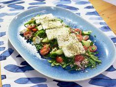 Greek Salad Recipe | Geoffrey Zakarian | Food Network