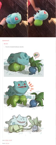 Mutated Bulbasaur