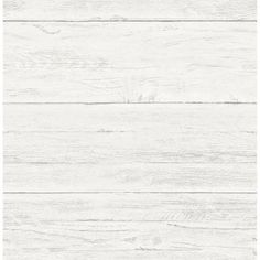 Brewster 8 in. W x 10 in. H Cream White Washed Boards Shiplap Wallpaper Sample-2701-22307SAM - The Home Depot