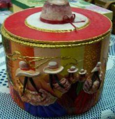 Caja ganadora del primer concurso por el Día de la Madre, organizado por JuliartexPerú
