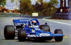 Jackie Stewart, Tyrrell 001 Ford (practices) at Montjuïc Park 1971 Go Kart Racing, F1 Racing, Racing Team, Drag Racing, Jackie Stewart, Grand Prix, F1 Wallpaper Hd, David Coulthard, Nascar Sprint Cup