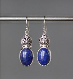 Gorgeous Bali Silver Charm Earrings with by thetimeoutcollection