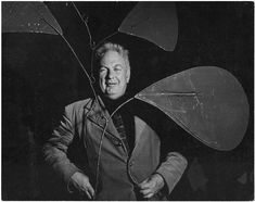 Denise COLOMB :: Alexander Calderl, 1950 [Artists' portraits series]