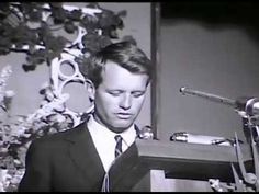 ND State Archives footage from Robert F. Kennedy's speech at the National Congress of American Indians meeting in Bismarck.