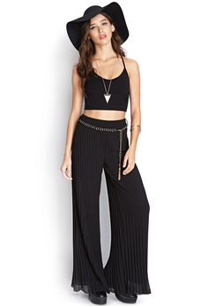 Pleated Woven Pants | FOREVER21 #SummerForever