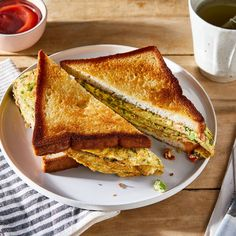 Indian Railway Omelet Sandwich recipe on Food52 Egg Sandwiches, Sandwich Recipes, Egg Recipes, Brunch Recipes, Indian Food Recipes, Snack Recipes, Indian Snacks, Cheese Recipes, Recipes