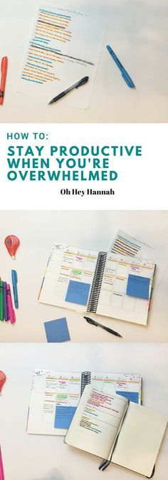 Get stuff done and manage the stress. Use a Bullet Journal, Brain Dump and a calendar to do an organizational reset.