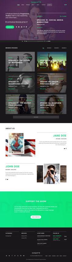 Steve Cadey - WordPress Music Theme For Musicians, DJs, Bands and ...