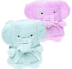 Supersoft Cuddles Elephant Blanket at Jack and Jill World