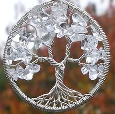 Winter Tree of Life Pendant