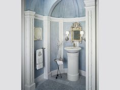 :: Arcadian Chapel Inspired :: Elegant Traditional Bathroom Designs by Kohler - Style Estate -