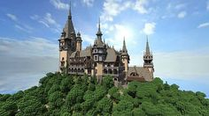 19th century Castle (Vitruvian City) Minecraft Project