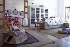 IKEA PS GULLHOLMEN sedia a dondolo €62,50. Fibra di banano 502.395.52 KIVIK divano 3 posti e chaise-longue €565. Dansbo beige 698.969.73