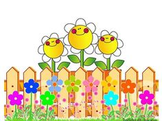 FENCE FLOWER Classroom Labels, Classroom Displays, Classroom Decor, Birthday Calendar Classroom, Birthday Bulletin, Frame Border Design, Fence Design, Sight Word Wall, Flower Fence