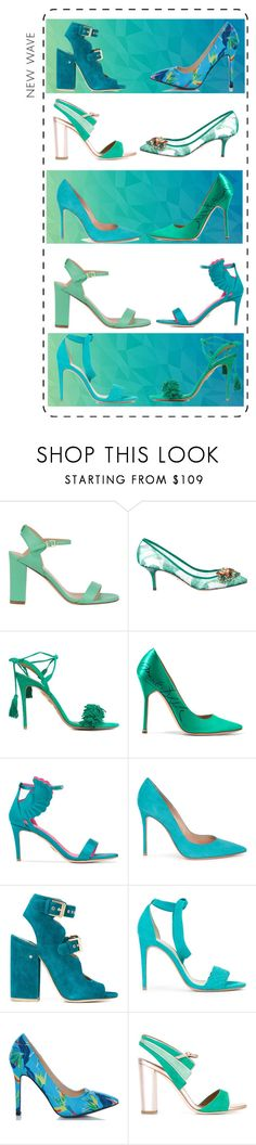 """Untitled #128"" by carrie-bradshaw2 ❤ liked on Polyvore featuring Twin-Set, Dolce&Gabbana, Aquazzura, Vetements, Oscar Tiye, Gianvito Rossi, Laurence Dacade, Alexandre Birman, Fiebiger and Malone Souliers"