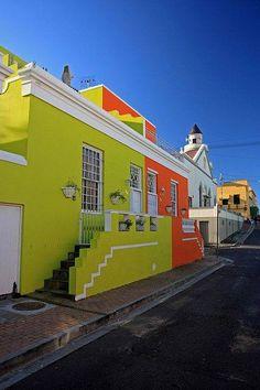 Bo-Kaap, en Ciudad del Cabo, Sudáfrica!