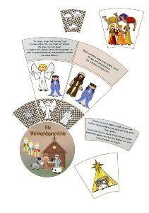Leporello zum heiligen nikolaus bereits im letzten jahr for Weihnachten grundschule ideen