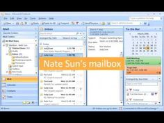 Outlook 2007 Demo: Stay on track with Outlook tasks - YouTube