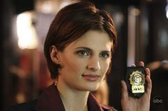 Stana Katic a.k.a. Detective Beckett in Castle