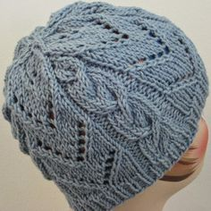 When you combine chevron and cables, the end result is a truly stunning knit hat pattern you won't find anywhere else.