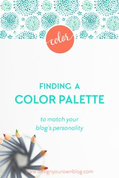 Finding a Color Palette to Match Your Blog's Personality. Color is easily the most identifiable factor in people's minds when they first jump…