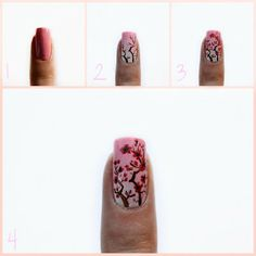 Starfish on the Beach: Cherry Blossoms Tutorial