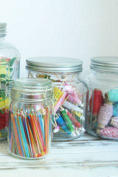 Decorating supplies management - #organize