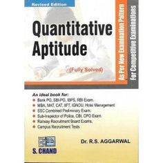 Rs Agarwal Quantitative Aptitude Pdf By Kickass