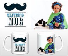 Custom photo coffee mugs for your whole family.