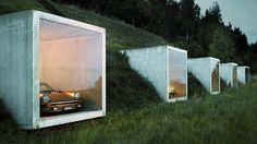 Dreamhouse garage by Peter Kunz Architektur