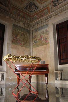 "Saatchi Art Artist Wilhelm Roseneder; Sculpture, ""Goldene Erweiterung/Golden expansion"" #art Villa, Social Art, 4 H, Everyday Objects, World Cultures, The Expanse, Saatchi Art, Abstract Art, The Originals"